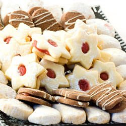 Tiny Cookies with Lard