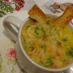 Potato Soup for the Little Ones