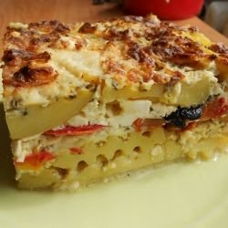 Gratin with Tomatoes and Olives