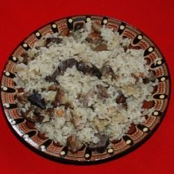 Chicken Hearts with Rice