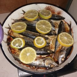 Small Mackerel in the Oven