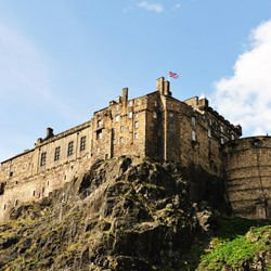 Hazratbal Shrine - Edinburgh castle