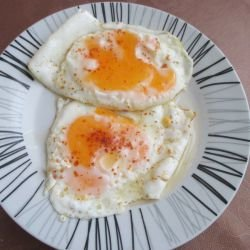 Eggs Sunny Side Up with Exotic Spices