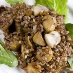 Buckwheat with Mushrooms