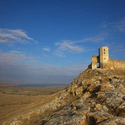 Churches, Cathedrals and Temples - Enisala castle