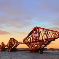 Clinton River - Forth Rail Bridge
