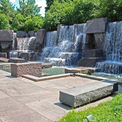 Sightseeing in Prague - Franklin Delano Roosevelt Memorial