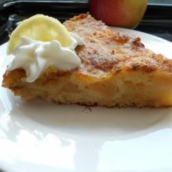 French Apple Cake with Cinnamon