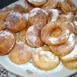 French Vanilla Donuts with a Glaze