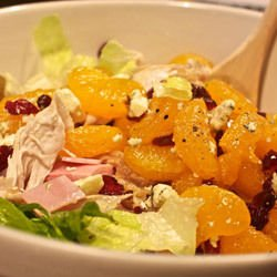 Chicken Salad with Fruits