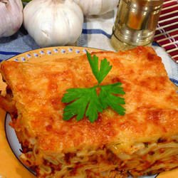 Meat and Macaroni Moussaka