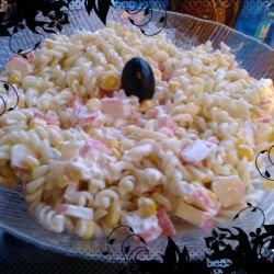 Simple Fusilli Salad