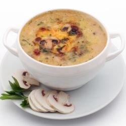 Mushroom Soup with Potatoes