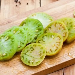 Georgian Green Tomato Salad