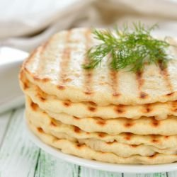Flatbread in a Grill Pan