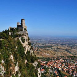Munich Germany - Guaita Fortress in San Marino
