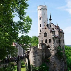 Germany -  Lichtenstein Gutenberg Castle in Germany