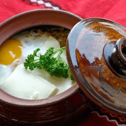 Aromatic Eggs in a Clay Pot