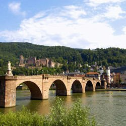 Pau France - Neckar River