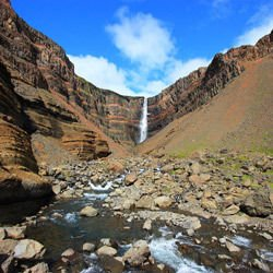 Most beautiful waterfalls,  -  Hengifoss
