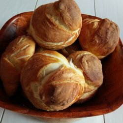 Specially Made Fluffy Bread Knots