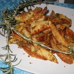 Crispy Potatoes with Breadcrumbs