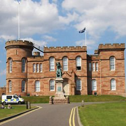 Cluny Abbey - Inverness Castle
