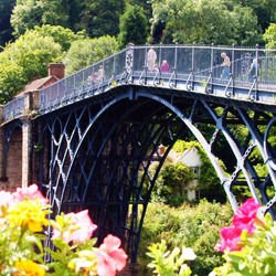 information about the central plains - Irongbridge Gorge