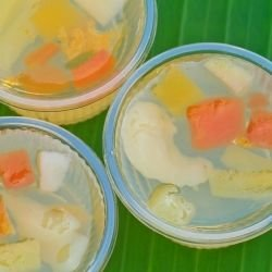 Jelly with White Wine