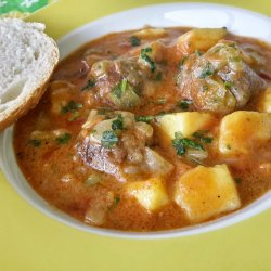Potato Stew with Meatballs