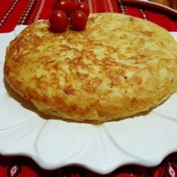 Spanish-Style Crunchy Potato Tortilla