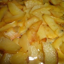 Easy Potatoes in the Oven
