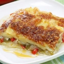 Moussaka with Sauerkraut and Potatoes