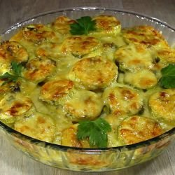 Potato Bake with Zucchini