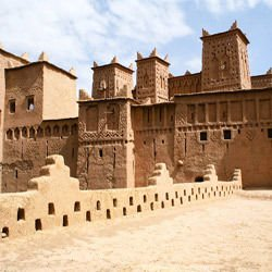 Ait Benhaddou -  Kasbah in Morocco