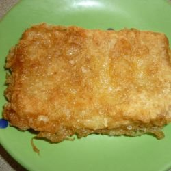 Crunchy Breaded Cheese