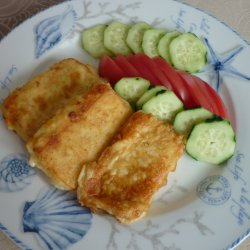Easy Fried Cheese