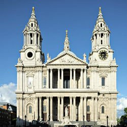 Bernese Alps - St. Paul's Cathedral, London