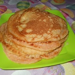 Pancakes with Milk