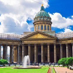 Cluny Abbey - Kazan Cathedral