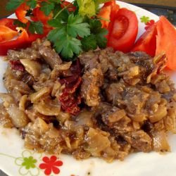 Kebab with Pork and Dried Peppers