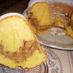 Cake-Strudel with Apple Filling