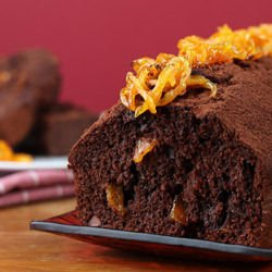 Orange Chocolate Sponge Cake