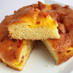 Easy Cake with Cottage Cheese