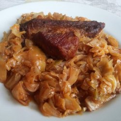 Sauerkraut with Pork Breasts