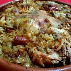 Sauerkraut with Meat and Sarma