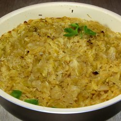 Sauerkraut with Leeks and Rice