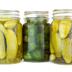 Gherkins without Boiling