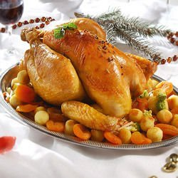 Christmas Stuffed Chicken