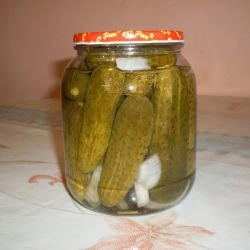 Marinated Pickles without Boiling